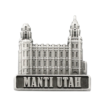 Manti Utah Temple Pin.