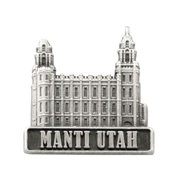 Manti Utah Temple Pin.