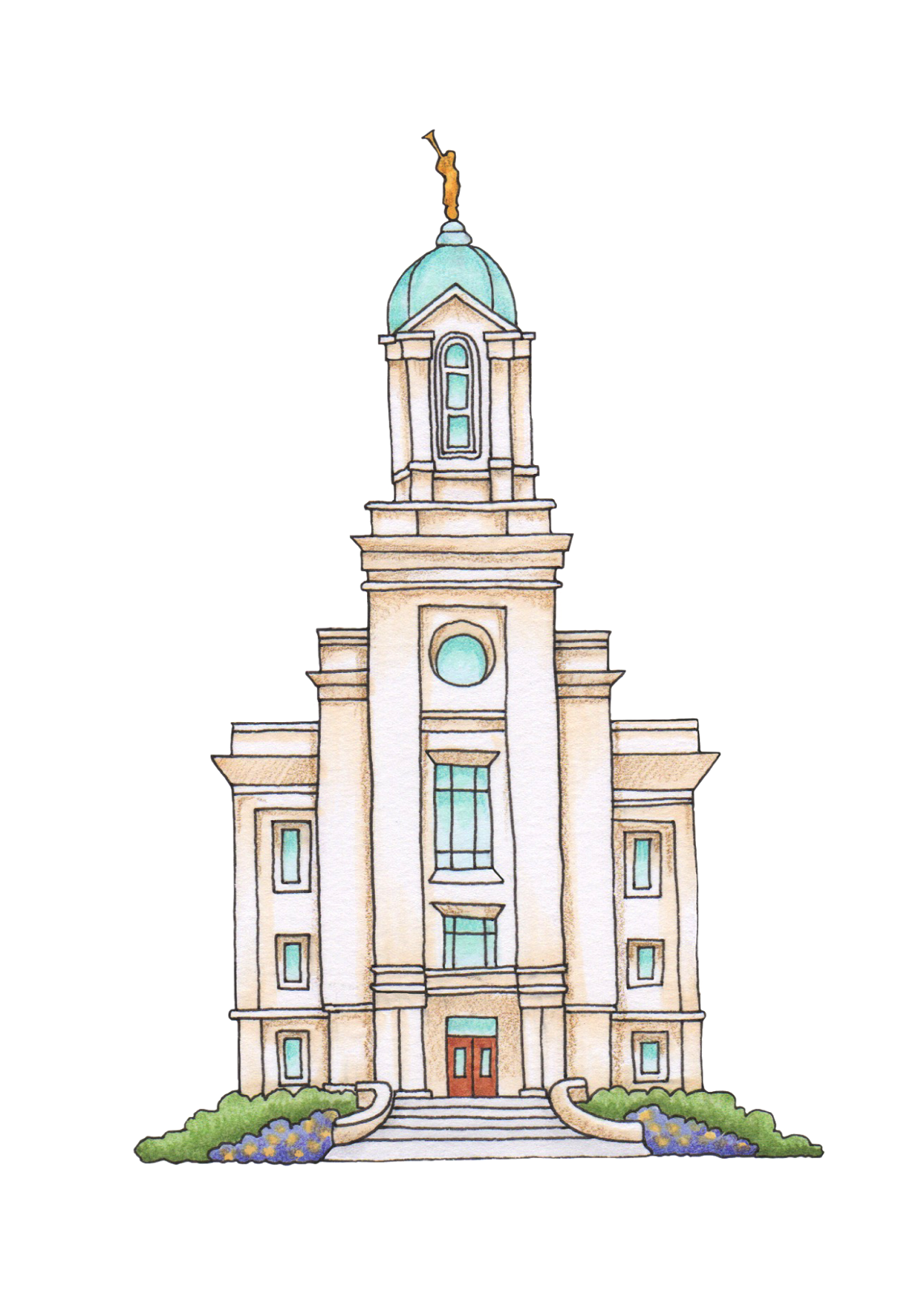 Ogden Utah Temple Cedar City Utah Temple Drawing Clip art.