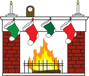 Clip Art Fireplace Mantle Clipart.