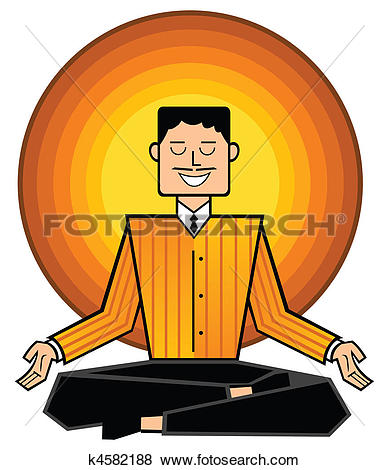 Stock Illustration of business mantra k4582188.