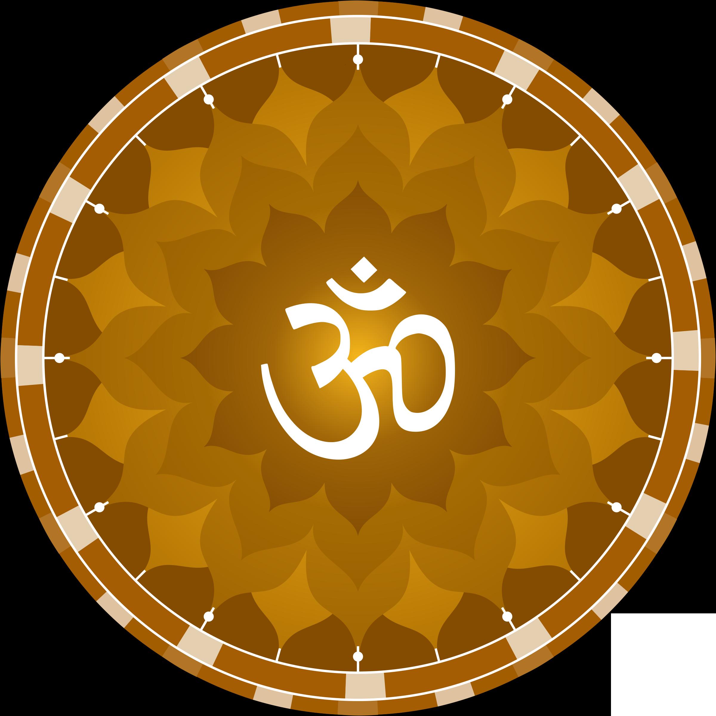 Mantra Symbol Vector Clipart.