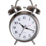 Clock Cut Out Black Alarm Clock Alarm Clock Manual Glamorous Alarm.