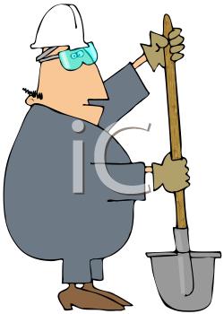 Manual Labor Clipart.