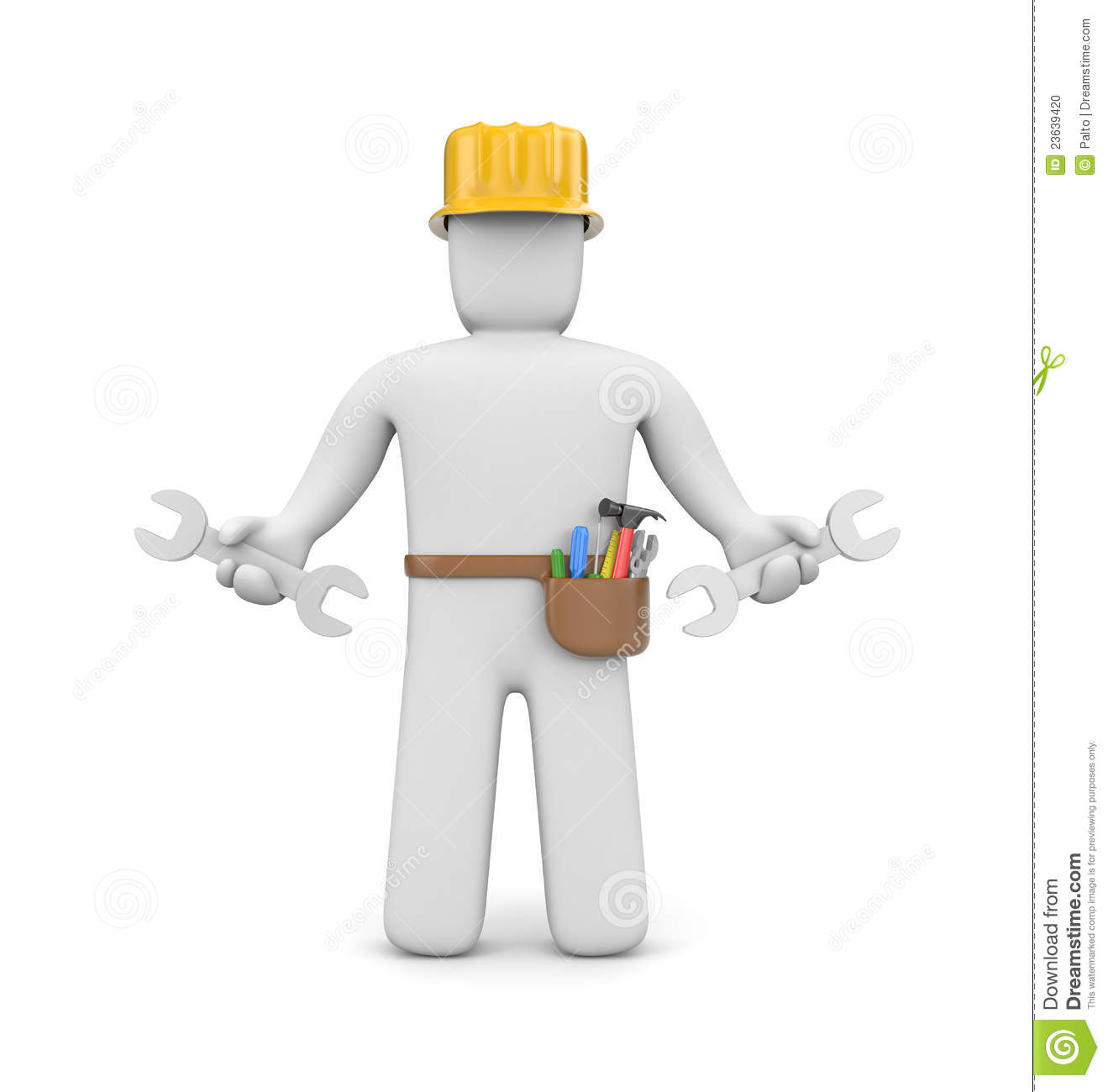 Clipart skilled worker.
