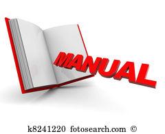 Manual Illustrations and Clip Art. 9,925 manual royalty free.