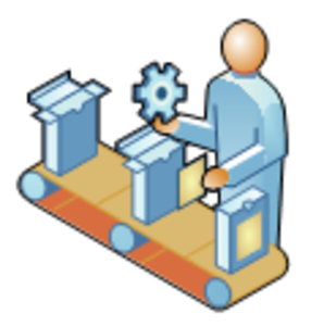 Manufacturing Plant Clipart.