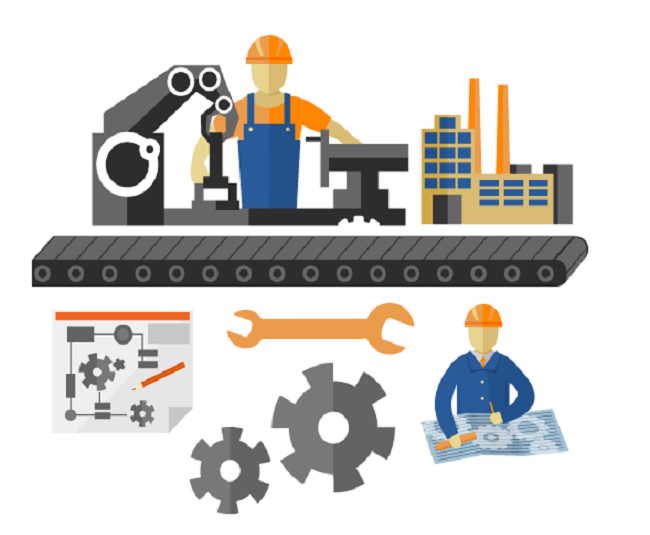 Manufacturing Business Clipart.