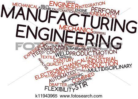 Stock Illustration of Manufacturing engineering k11943965.