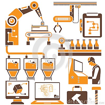 Manufacturing process clipart 2 » Clipart Station.