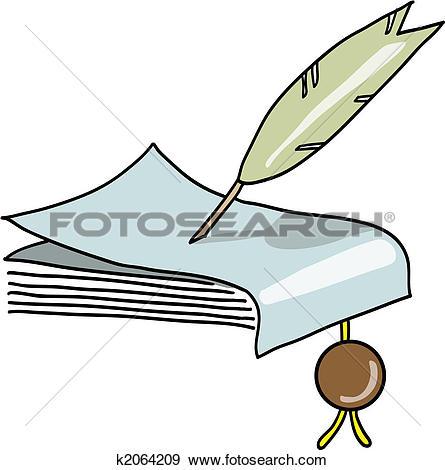 Clip Art of manuscript k2064209.