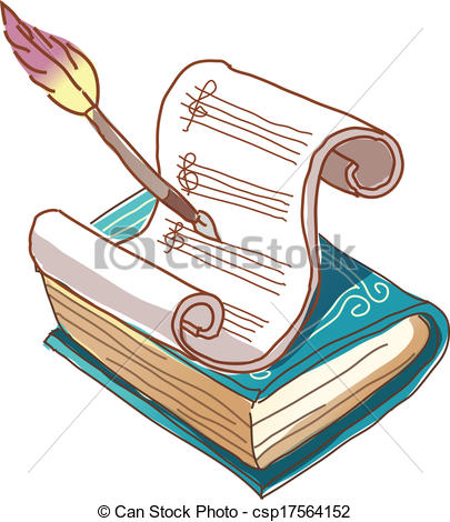 Manuscript clipart.