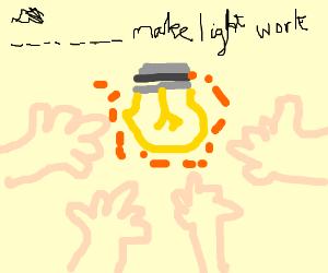 Many hands make light work.