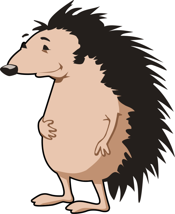Hedgehog Clipart Free.