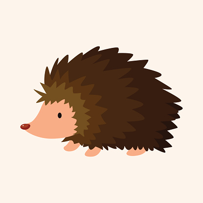 Hedgehog Clip Art, Vector Images & Illustrations.