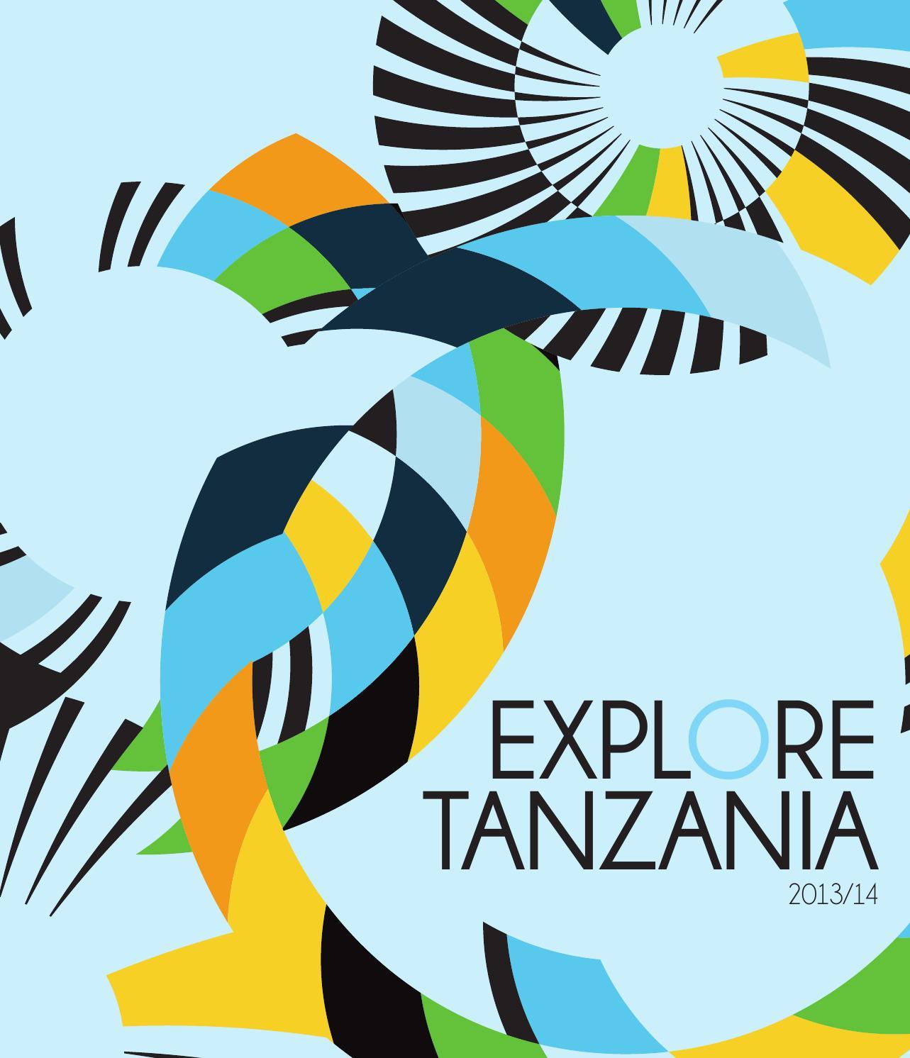 Explore Tanzania 2013.