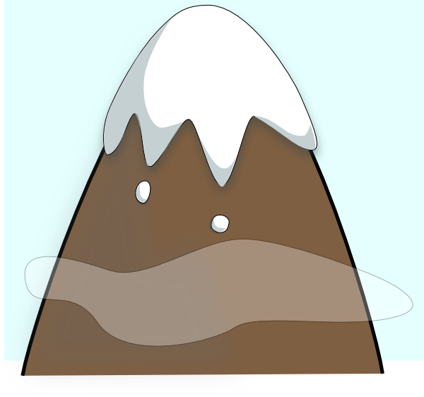 Free mountain clipart mountains clip art vector clip art.