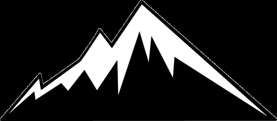 Mountain silhouette clip art.