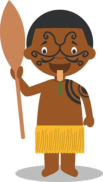 Maori Dance Clip Art, Vector Images & Illustrations.