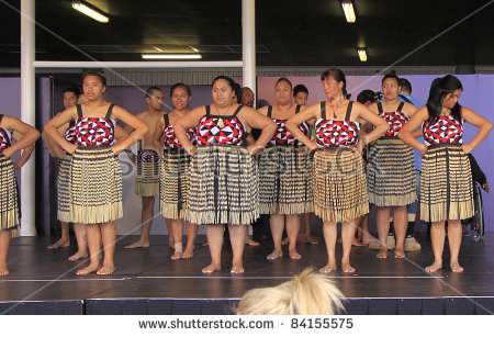 Haka Maori Dance Performing Stock Photos, Royalty.