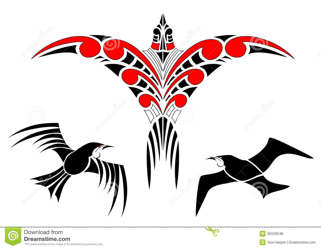 Maori Stock Illustrations.