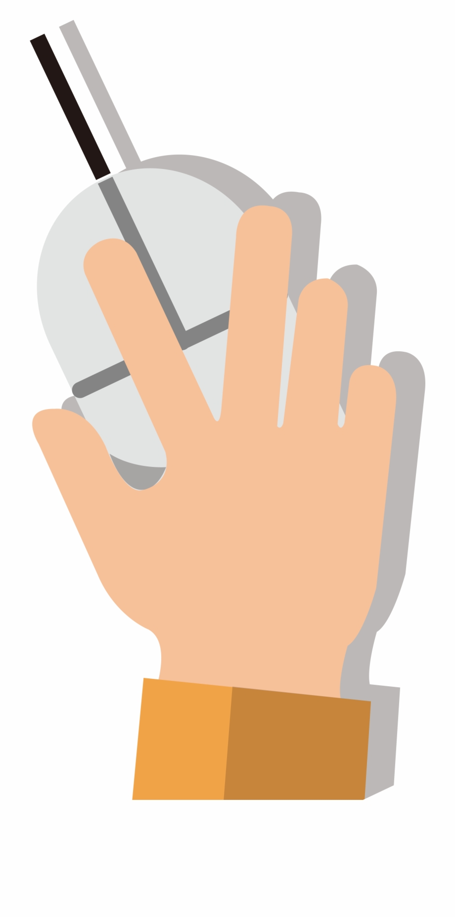 Mouse Hand Png.