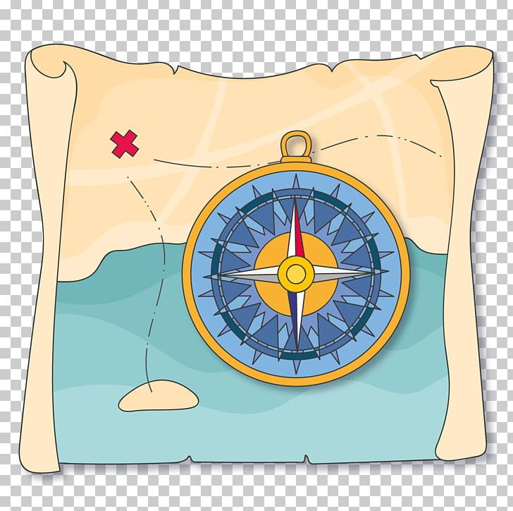 Treasure Map Compass PNG, Clipart, Adventure, Cartoon.
