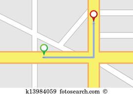 Road map Clipart EPS Images. 14,721 road map clip art vector.