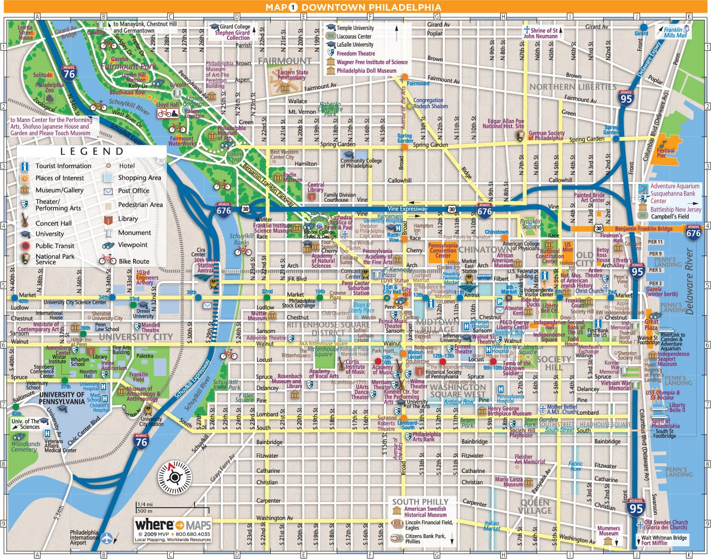 maps update  tourist map philadelphia. map center city philadelphia clipart  clipground