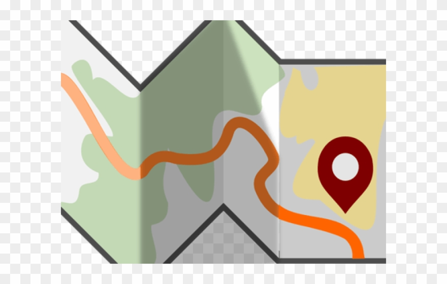 Maps Clipart Neighborhood Map.