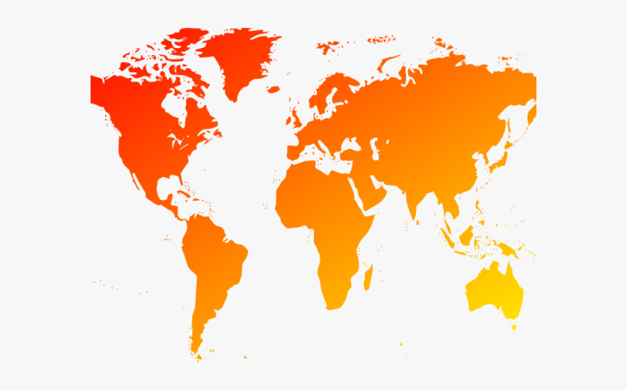 World Map Clipart Png.