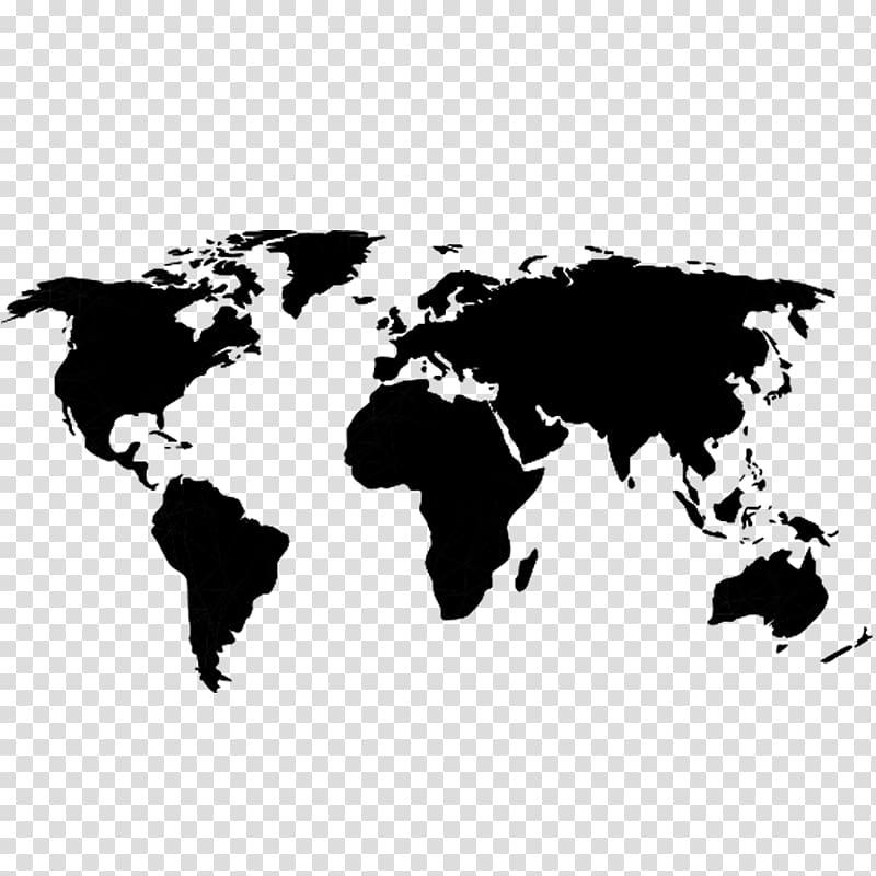 Globe World map, world map transparent background PNG.