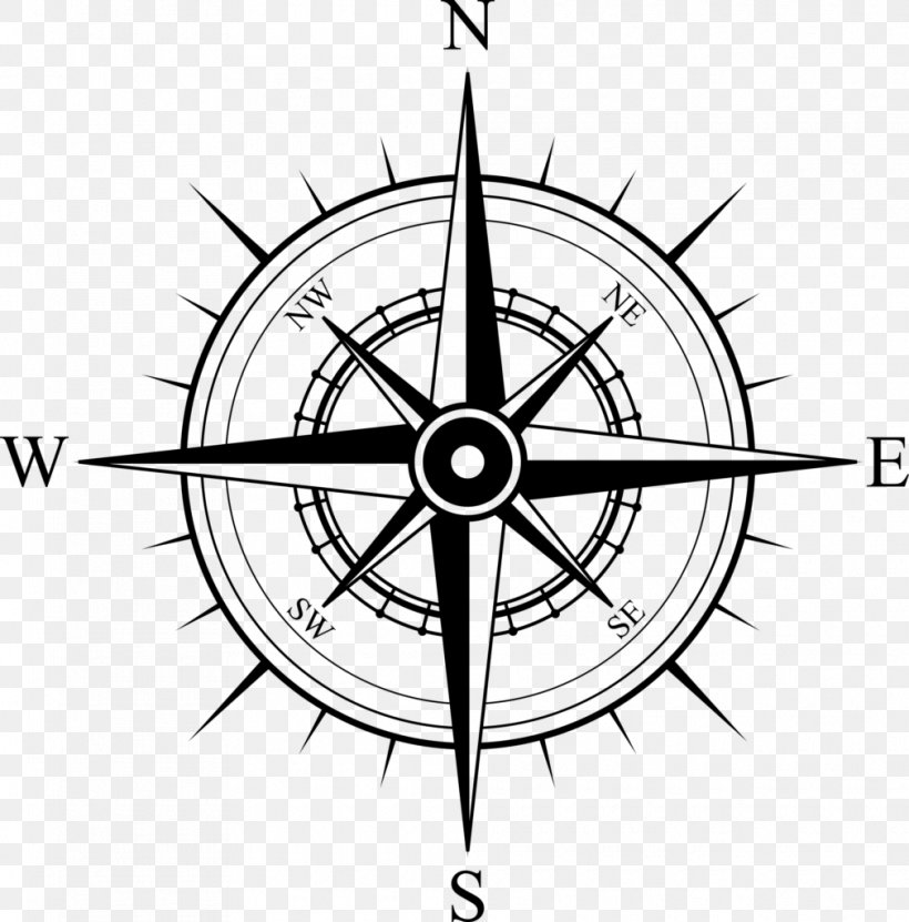 North Compass Rose Map, PNG, 1010x1024px, North, Artwork.