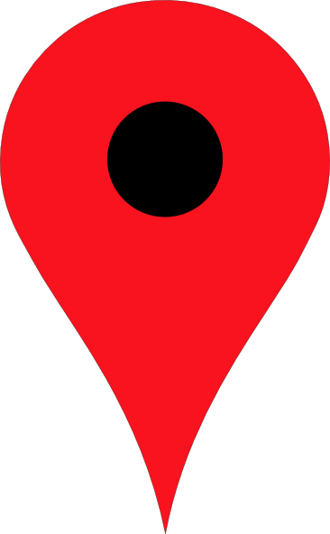 map drop pin clipart