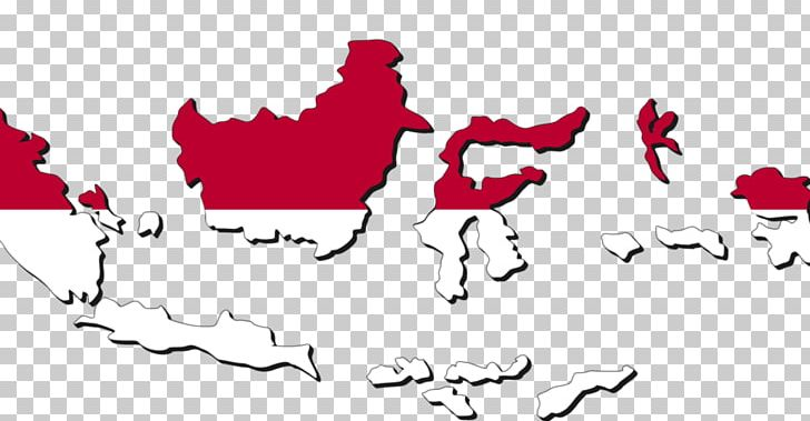 Flag Of Indonesia Blank Map Indonesian National Revolution.