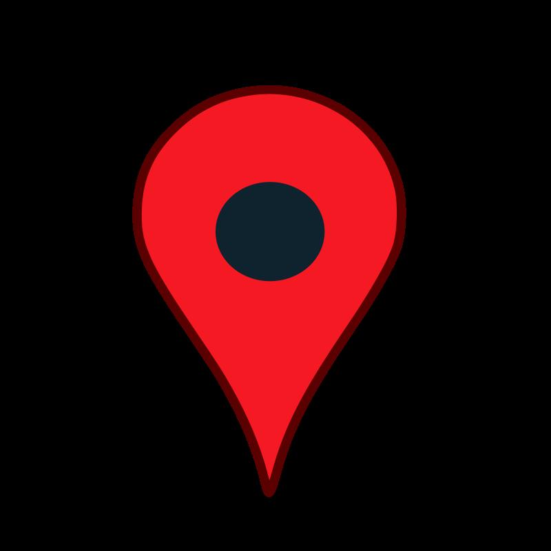 Map Pin Transparent Clipart.