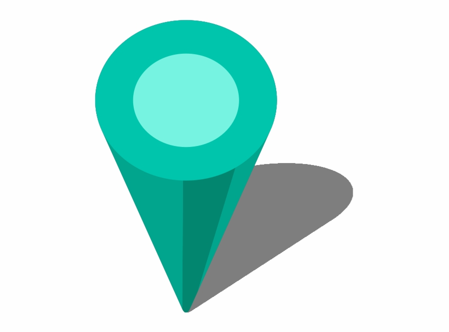 Location Map Pin Turquoise Blue7 Location Icon Turquoise.