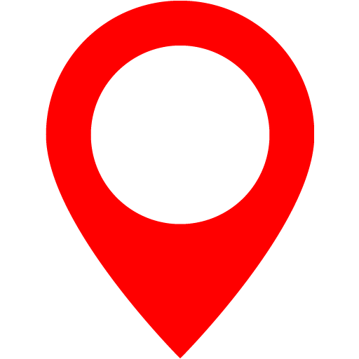 Red map marker 2 icon.