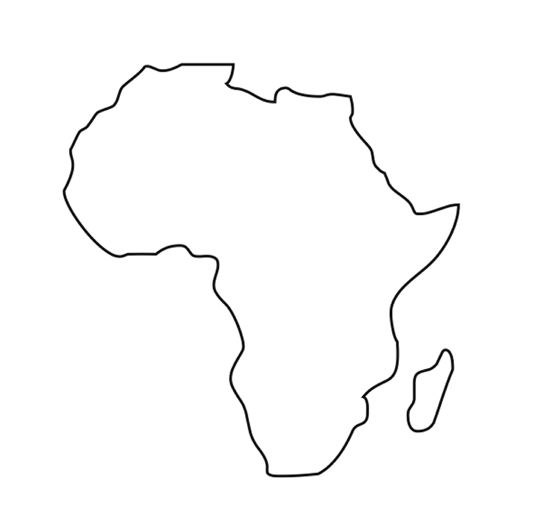 2005 Africa free clipart.