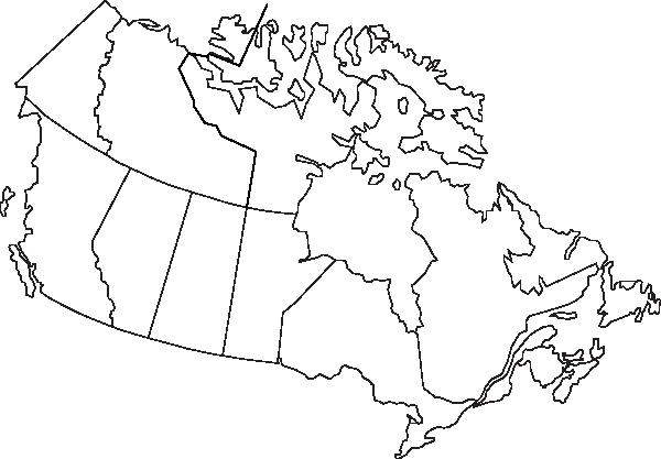Canada Map Clip Art At Clker.com.