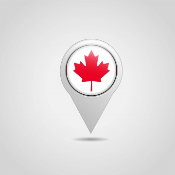 Map Of Canada PNG Images.