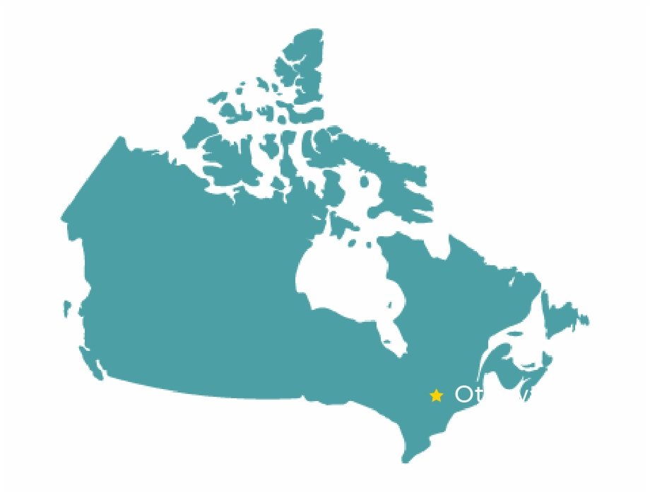 Canada Map.