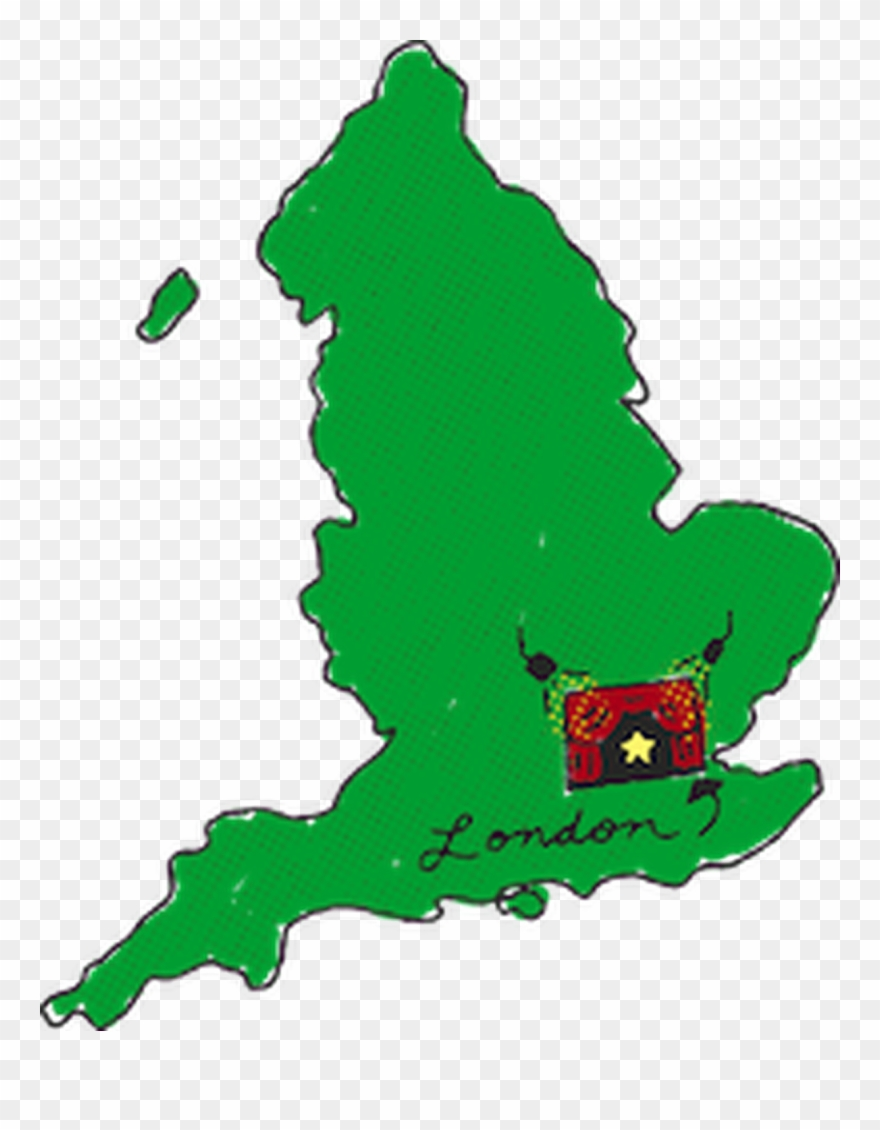 Map Of England Clipart (#1398211).