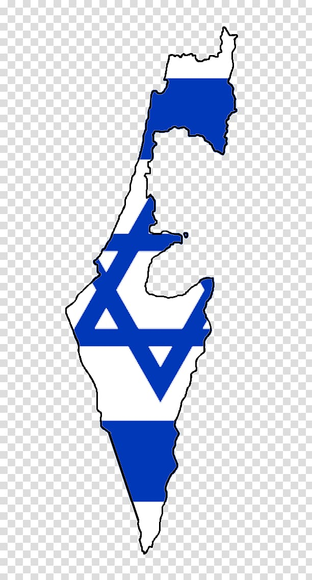 Flag of Israel Map , map transparent background PNG clipart.