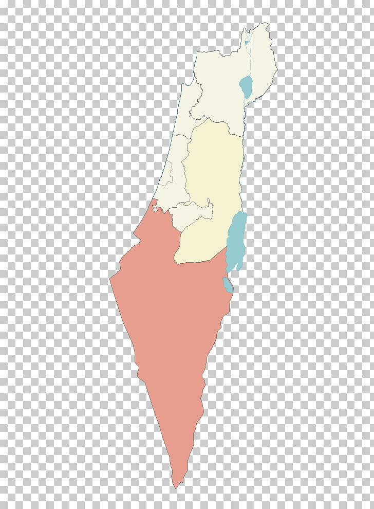Israel Map, map PNG clipart.