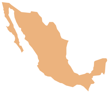 Map Of Mexico City Clipart.