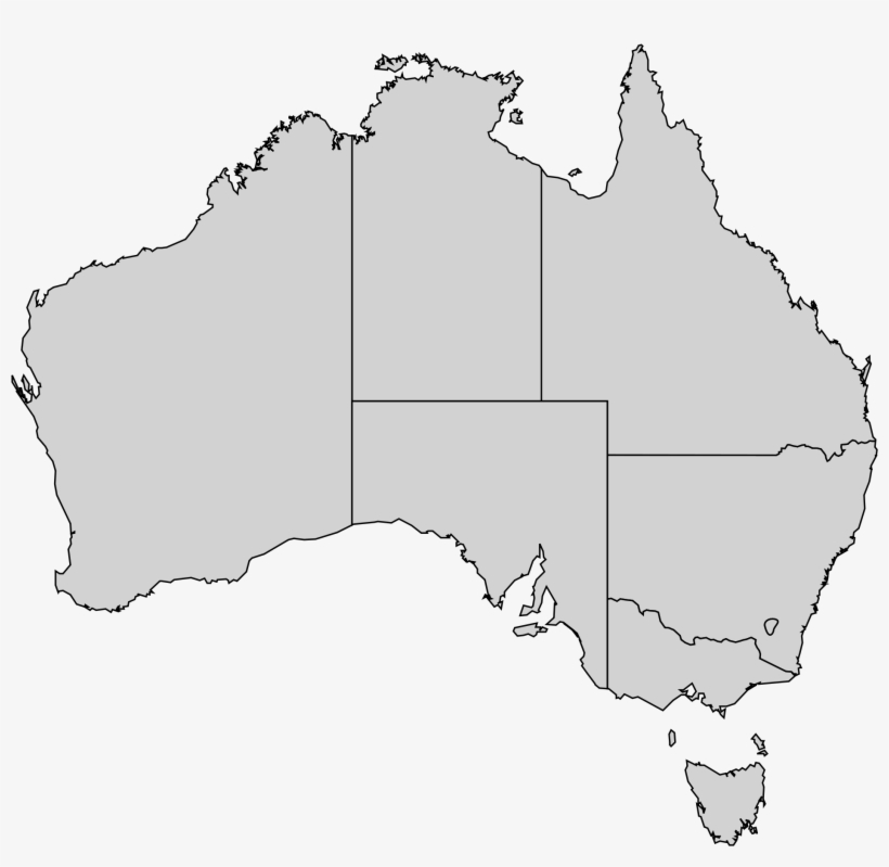Australian States Map 17 Excellent Outline File Australia.