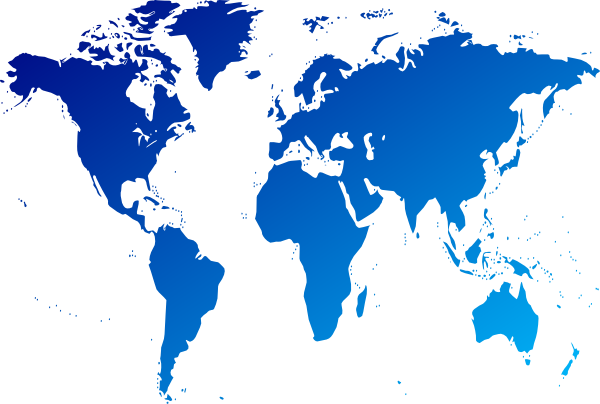 Clipart of world map.