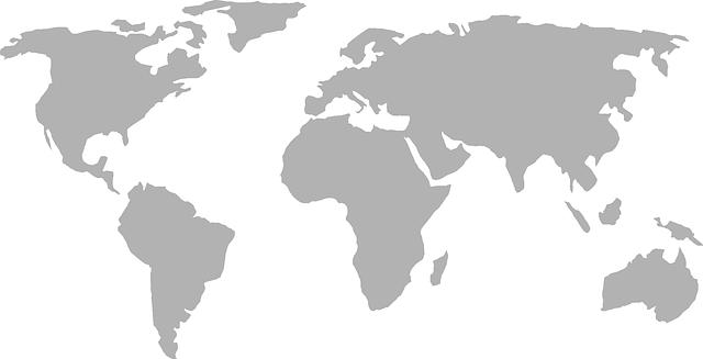 World Map Earth Global.