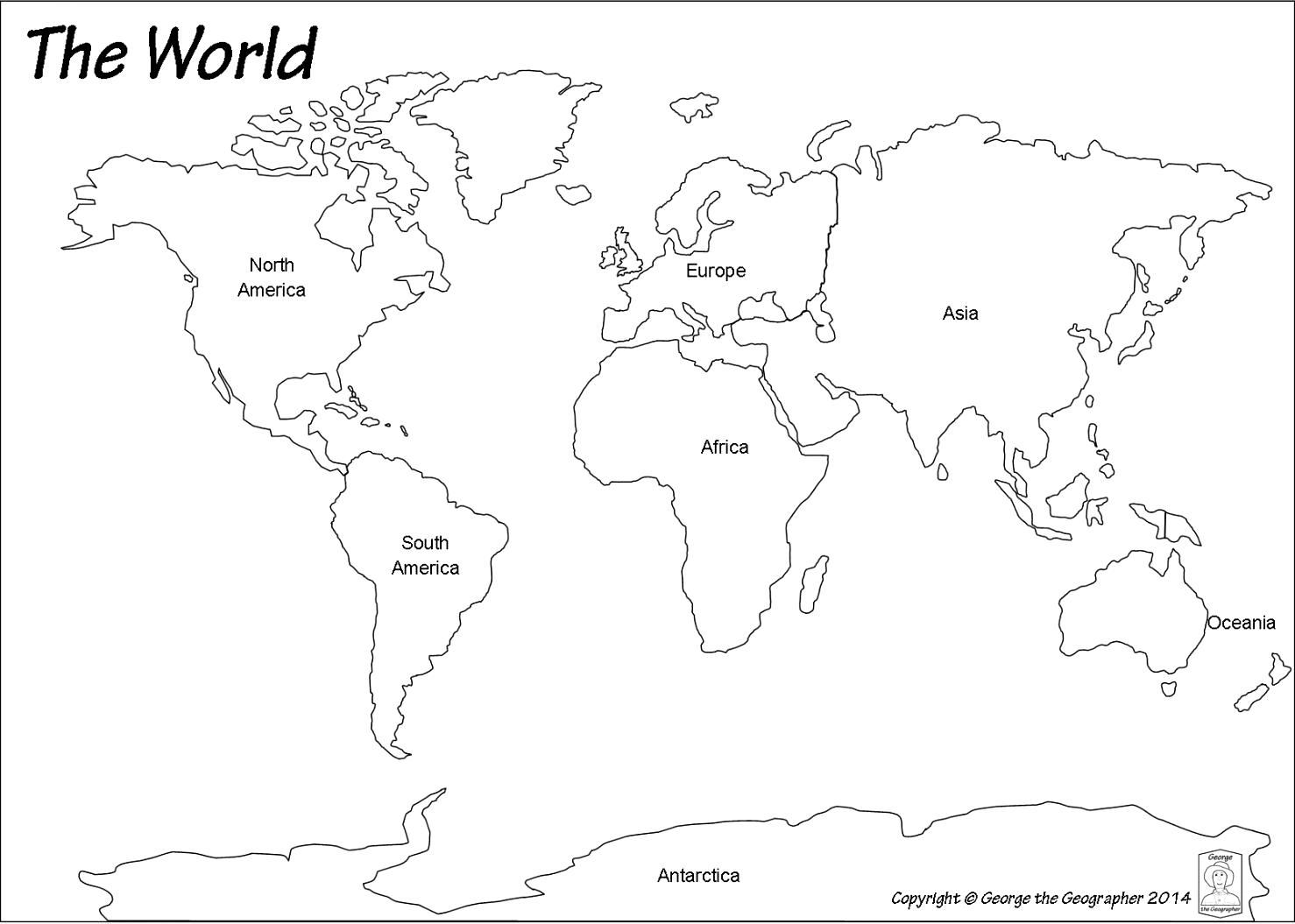Map Of The World Tan Clipart Clipground - Physical world map svg